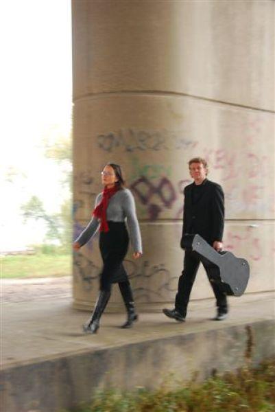 Duo Axel en Anneke (travelling light)