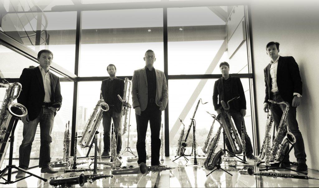 Saxofoon Kwintet The Novelties