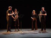 Pyton Sax Kwartet (live)
