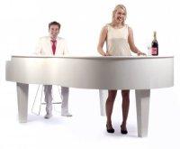 1 or 2 man Piano Experience (optioneel met Cocktailbar)