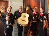 Mexicaanse Mariachi Muziek (small and big)
