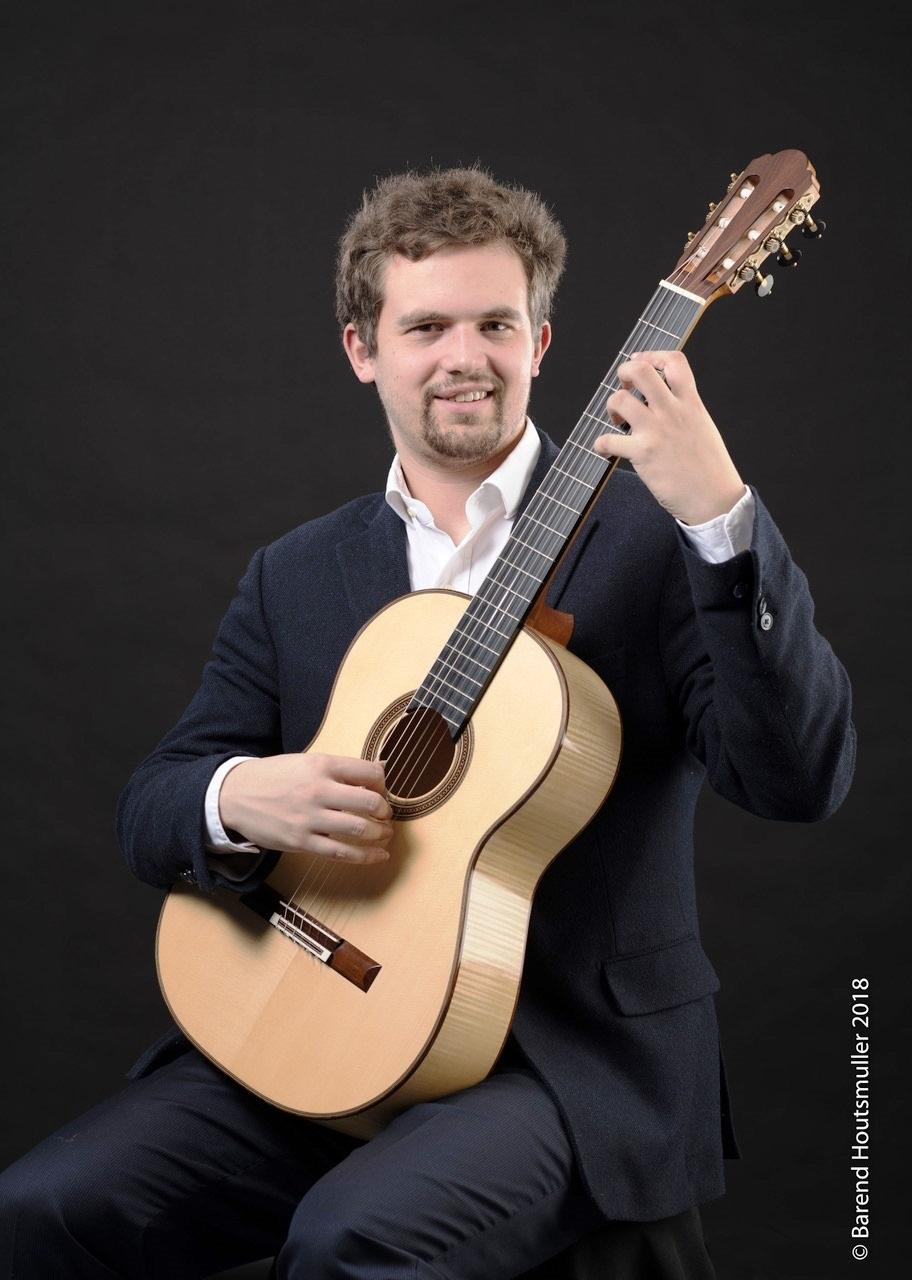 Klassiek gitarist N. Kanter