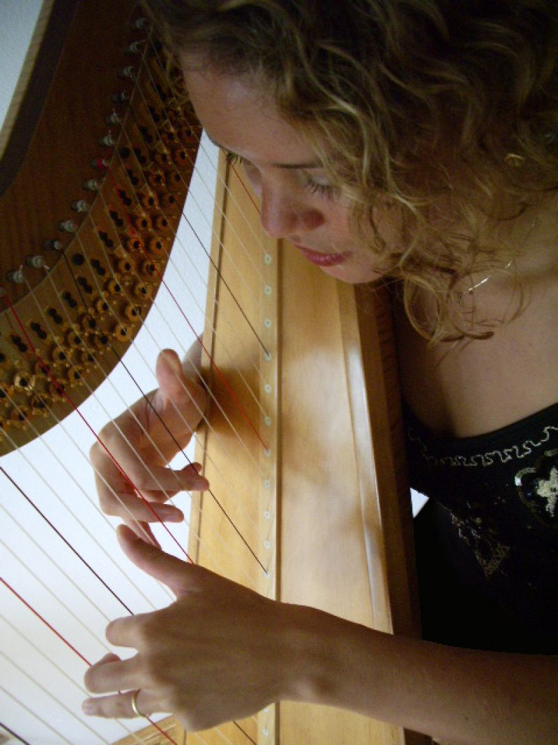 Uitvaart Muziek Harp